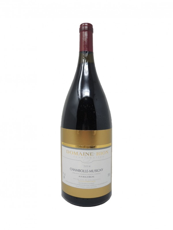 CHAMBOLLE-MUSIGNY AUX BEAUX BRUNS - DOMAINE JEAN-CHARLES RION - Vintage 2014